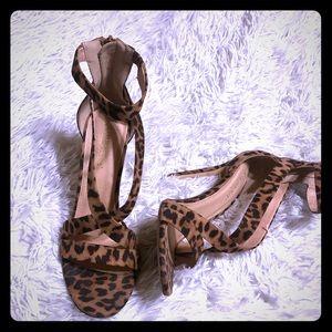 Shoes - Leopard Heel